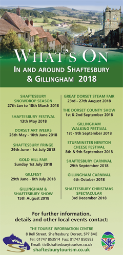 Shaftesbury Tourism